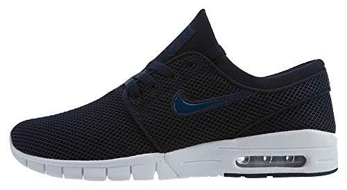 Sb 406 - Nike SB Mens Stefan Janoski Max Shoes Obsidian/Blue Force 631303 406 (US 5)