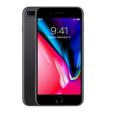 Apple iPhone 8 Plus 256GB Factory Unlocked, Space Grey (GSM & CDMA Unlocked, Model A1864 Works on all Cellular Networks Worldwide, MQ8G2L/A)