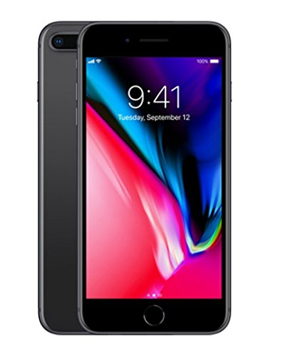 Factory Unlocked Apple iPhone 8 Plus 5.5 Inch 256GB MQ8G2L/A (GSM & CDMA Unlocked, Model A1864 – Works on all Cellular Networks Worldwide) Space Gray