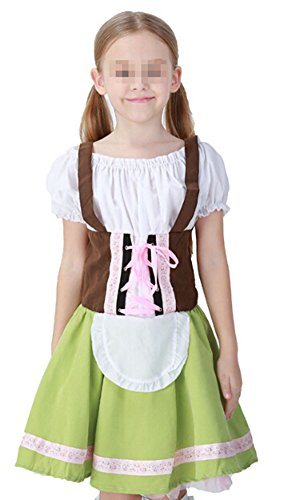Paniclub Oktoberfest Costume Bar Maid Cosplay Costume Dresss