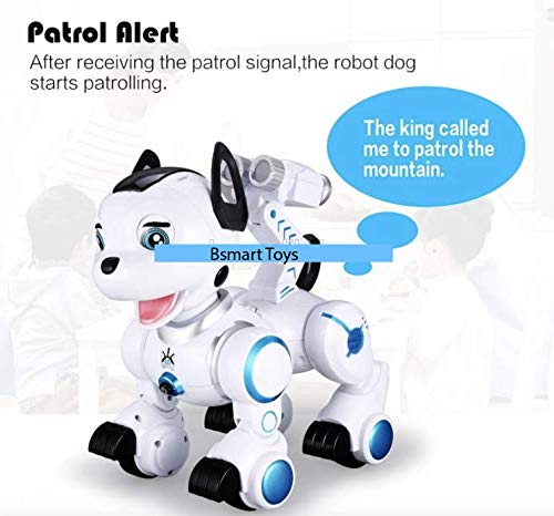 Bsmart toys Intelligent Hi-Tech Wireless Robot Dog ,Remote Control Educational Puppy Pet Best Birthday Gift for 5,6,7,8,9 Years Boys and Girls Interactive Robotic Friend by Bsmart toys (Image #5)