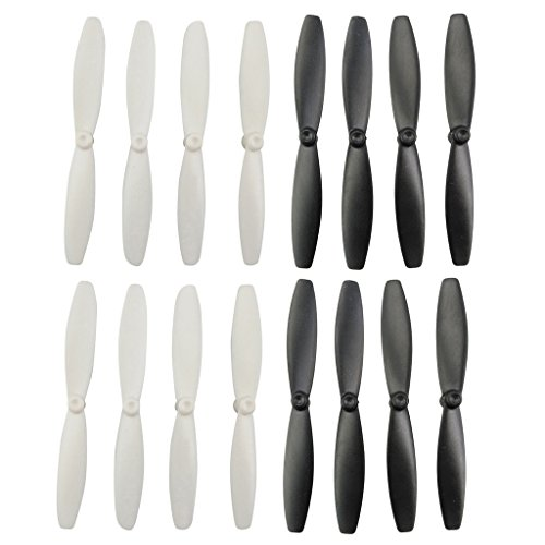Dolity 16pcs Propeller Prop Blade CW CCW for Parrot Minidrones 3 Mambo Swing RC Drone Quadcopter Spare Parts UAV accessories by Dolity