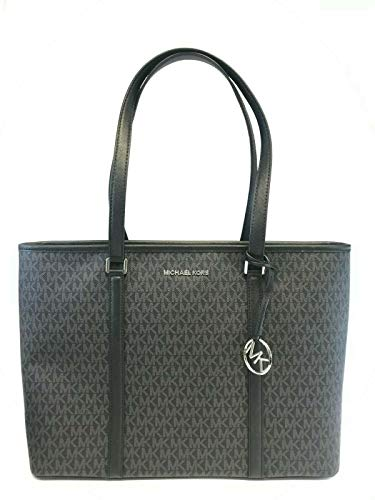 Michael Kors Sady Tote (Black PVC) - Michael Kors Boutique