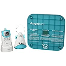 Angelcare Movement and Sound Monitor AC401, Aqua/White