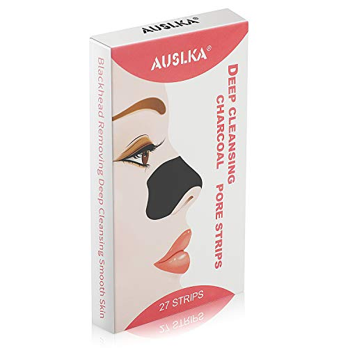 Blackhead Pore Strips, Blackhead Remover For Nose, 27 Count Deep Cleansing Charcoal Peel Off ()