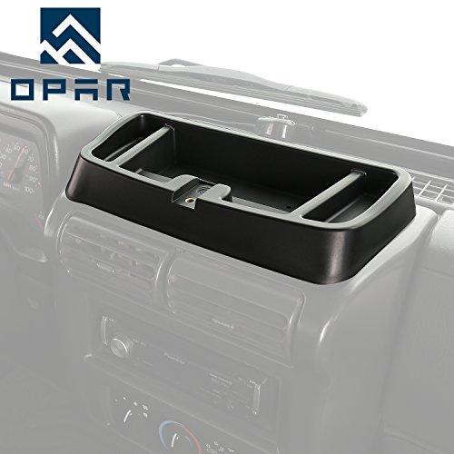 Jeep Wrangler TJ 1997-2001 Upper Dash Panel with Dash Multi-Mount Phone Kit