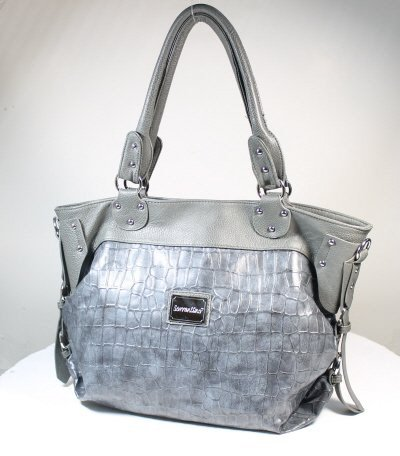 BandD Hobo Handbag It has a tonal, stylist design and a sleek shape to give it an on-the-go-city-girl vibe, Bags Central