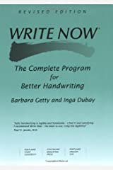 Write Now: The Complete Program For Better Handwriting Paperback