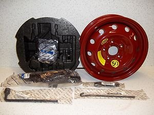 Elantra Spare Tire Kit Mounted