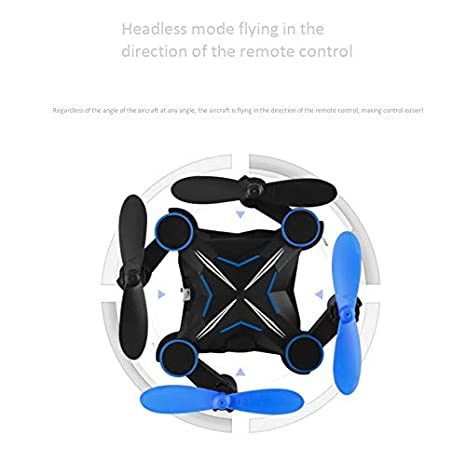 Amazon.com: Mini Pocket Drone RC Drones Without Camera Micro Quads Altitude Hold Headless RC Quad Copter: Sports & Outdoors