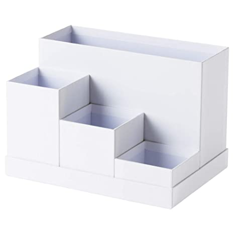 Fantastic Amazon Com Ikea Tjena Desk Organizer White 603 954 52 Size Beutiful Home Inspiration Aditmahrainfo
