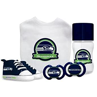 Amazon.com: Baby Fanatic NFL Seattle Seahawks Infant and