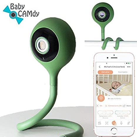 Baby CAMdy - Vigilabebé Cámara WiFi HD 1080p⎮Smart APP iOS/Android (Pickle