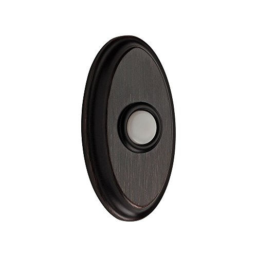 Baldwin 9BR7016-001 Oval Bell (Oval Bell Button)