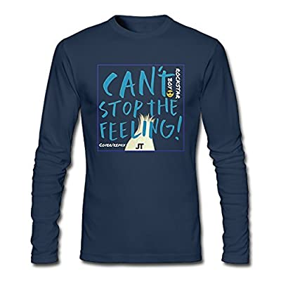 Can't Stop The Feeling Justin Timberlake Tshirt Fitted Long Sleeve Shirts \r\nHomelike Long T-shirts