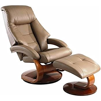 Mac Motion Oslo Leather Swivel Recliner with Ottoman in Sand Finish  sc 1 st  Amazon.com & Amazon.com: Homelegance 8548BRW-1 Swivel Reclining Chair with ... islam-shia.org