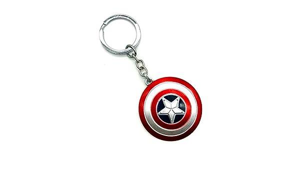 Nuevo The Avengers Capitán América Llavero Marvel Superhéroe ...
