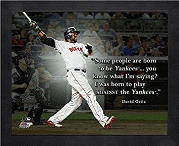 David Ortiz Boston Red Sox MLB Pro Quotes Photo (Size: 9