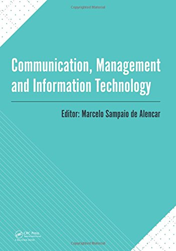 Communication, Management and Information Technology Front Cover