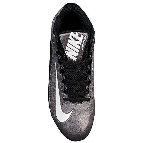 Pictures of New Nike Men's Alpha Strike 2 Variation Black/Metallic Dark Grey 2