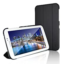 """Tab 3 7.0 Case, JETech Slim-Fit Case Cover with Lightweight Stand for Samsung Galaxy Tab 3 7.0"""" (Black) - 0540"""