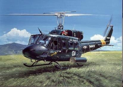 Italeri 1/72 UH-1N Twin Huey USN