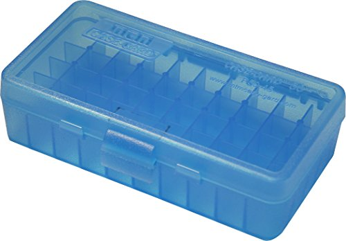 MTM 40/45/10MM Cal 50 Round Flip-Top Ammo Box