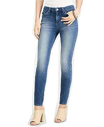Lee Platinum Women's 360 Defy Stretch Skinny Jeans - Blue - 6 Short