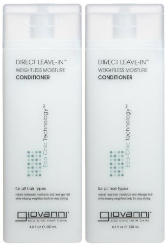 Giovanni Direct Leave In Treatment Conditioner, 8.5 oz, 2 - Direct Conditioner Giovanni In Leave