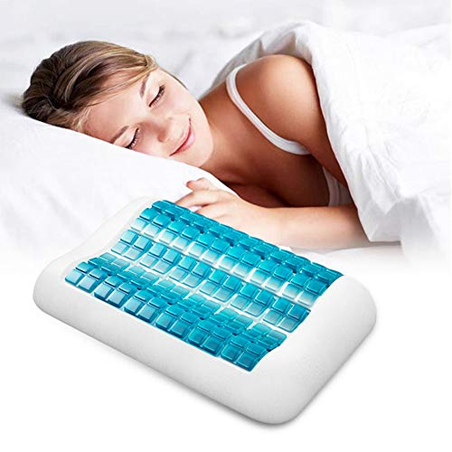 XHL Memory Pillow Italian Gel Pillow Particle Neck Pillow Adult Pillow Memory Foam Gel Pillow