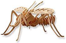 3-D Wooden Puzzle - Mosquito Woodcraft Construction Kit - Item #DCHI-WPZ-E031