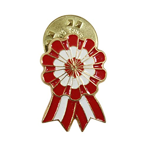 - Peruvian Official Lapel Pin - Golden Finish Handpainted Jewelry by Evelyn Brooks