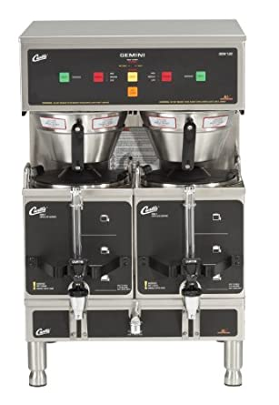 Amazon.com: Wilbur Curtis Gemini Twin Coffee Brewer, ADS ...