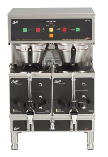 - Wilbur Curtis Gemini Twin Coffee Brewer, ADS Digital, 1.5 Gal. - Commercial Coffee Brewer  - GEM-12D-10 (Each)