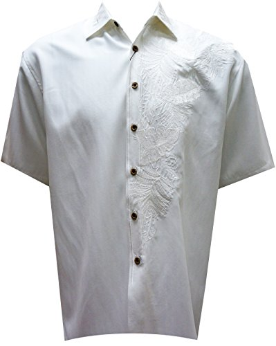 Embroidered Camp Shirt - 8