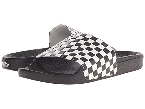 Vans Slide-On Sandal Checkerboard White,Size 13.5 M US Women / 12 M US Men]()