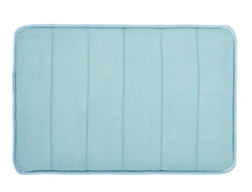 1 Piece Memory Foam Horizontal Stripes Rug Bathtub Mat Baby