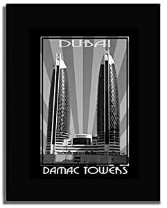 Photo of Damac Tower Black And White F04-NM (A2)