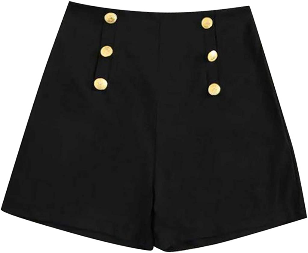 Moda Donna Ampio Gamba Gambe Pantaloncini Pantaloni Loose Beach Pantaloni Casual Pantaloncini Casual