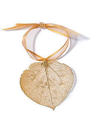 Artisan Outlet LLC Aspen Leaf Ornament (Gold)