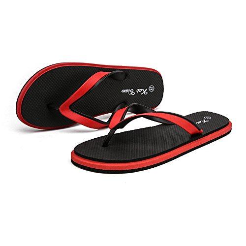 classico Black Color sandali con Pantofola spiaggia Scarpe 2018 da Black da infradito 43 uomo EU Dimensione uomo per Fangs Blue Red infradito P6SZnqww