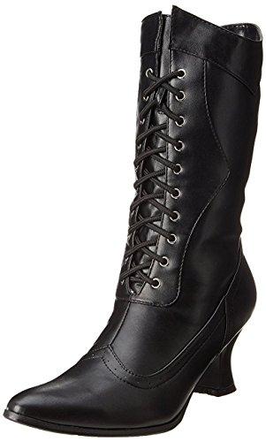 Ellie Shoes Womens 253 Amelia Victorian Boot White NA88A2B