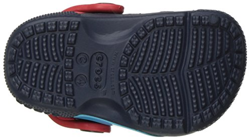Crocs - Boys '- funlab Marvel Avengers Clog, EUR: 16-17, Navy