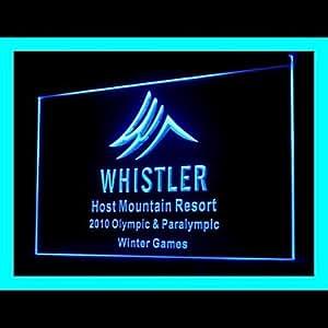 Whistler Olympic Resort Advertising LED Light Sign