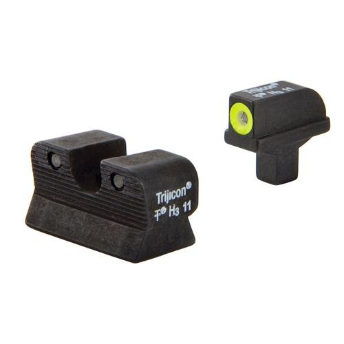 Trijicon Hd Night Sight Set,Yellow for Colt Officers/A1