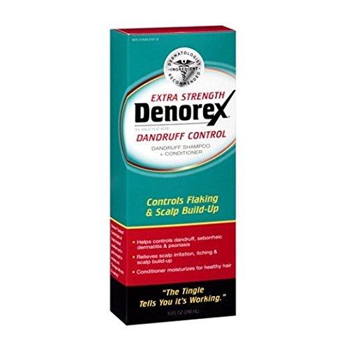 [2 Packs of Denorex Dandruff Control Extra Strength Shampoo + Conditioner, 10 fl oz ea] (Denorex Dandruff Shampoo)