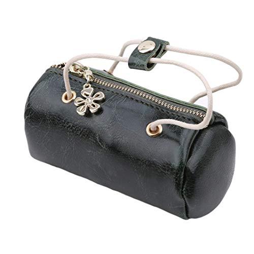 Soft Clutch Purse Women Bag Oil Leather Handbag Wax SHIJIAN Yellow Tote Casual Green CgwqF1n