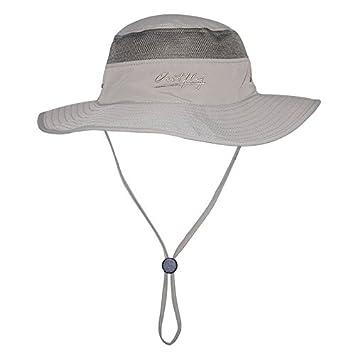 Outdoor Floppy Sun Hat - Summer Boonie Bucket Hats with Mesh Design -  Stylish Brim Cap 248e2e49df7e