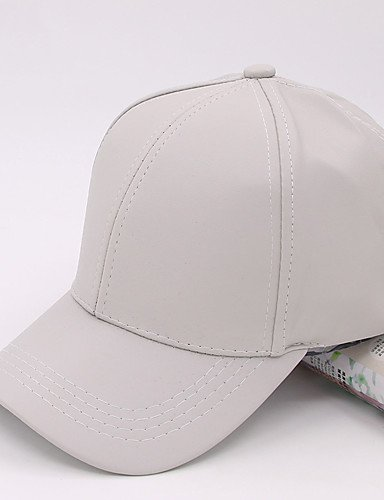 's Baseball Flat Hop Summer Cap Printing Solid GSM Leather Hip ONESIZE Women Color Caps 0zwP1