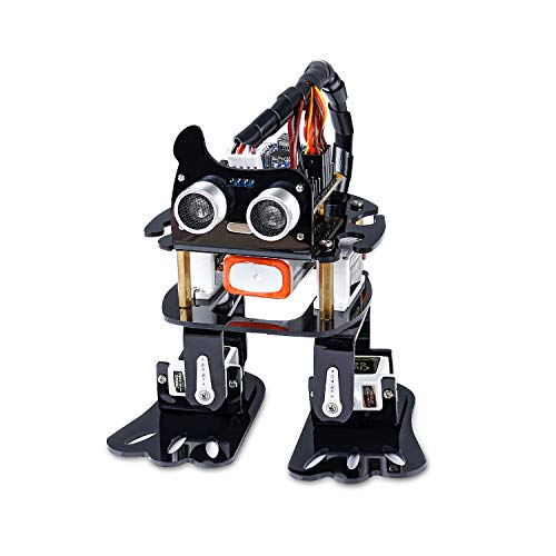 SunFounder Arduino Robotics Kit, 4-DOF Dancing Sloth Programmable DIY Robot Kit for Kids and Adults with Tutorial]()